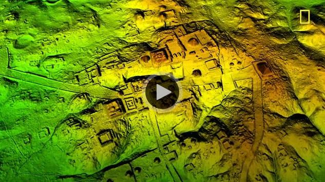 Cité maya au Guatemala (capture d'écran/National Geographic)