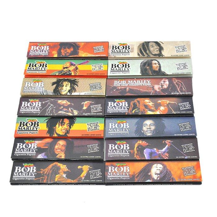 Bob Marley Cigarette Rolling Paper King Size