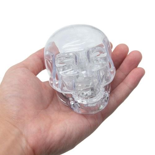 LED Light Up Skull Grinder