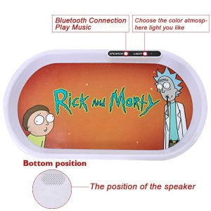 Bluetooth Speaker Glow Tray
