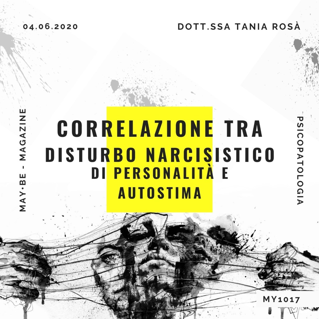 DISTURBO NARCISISTICO, NARCISISTA MAYBE MAGAZINE