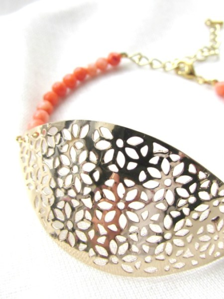 bracelet_colors_bahia_corail_perle_estampe_doré_or_fin_goldfilled_may_boheme_hippie_boho_chic