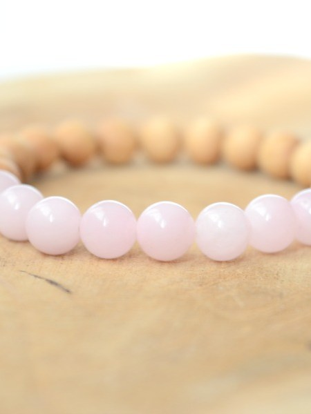 bracelet_elastique_perles_bois_santal_agate_rose_pale_nude_may_boheme
