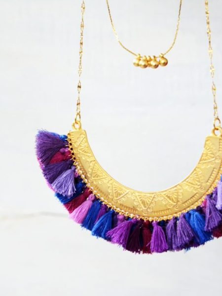plastron_collier_antique_piece_UNique_may_boheme_violet
