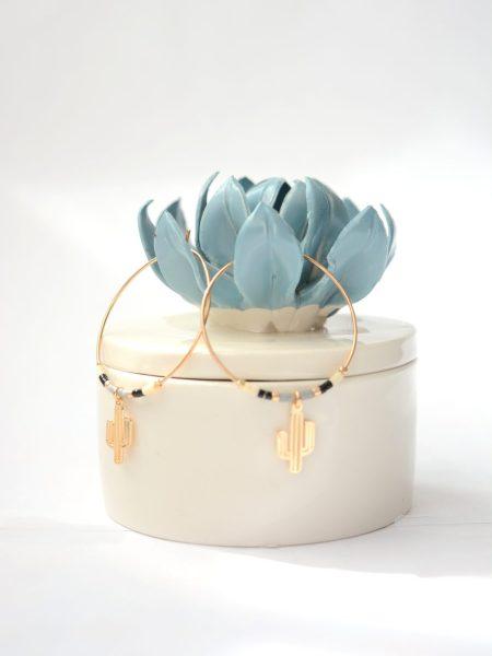 creoles_bo_petites_oreilles_boucles_plaqué_or_cactus_perle_japnaise