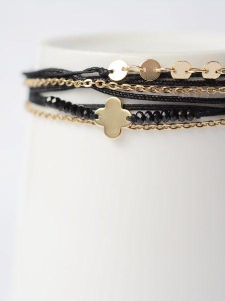 """Bracelet Salamé """"Bohemienne Chic"""" - Bracelet multirangs"""