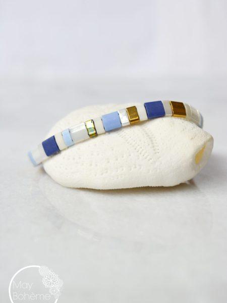 "Bracelet Tila Sun ""BOHEMIAN MOOD"" - Bracelet réglable perles Tila"