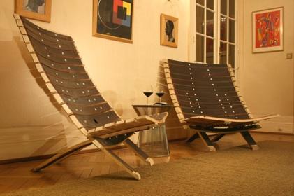 fauteuil dantoine le mobilier design des grands vins fauteuil bois chaise bois