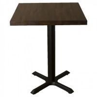 Refurbished Solid Wood Table - Dark Oak, with New Samson ...