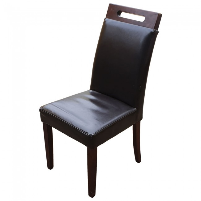 Used Restaurant Dining Chairs  Dark Brown