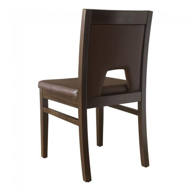 Windsor Side Chair Walnut  Brown
