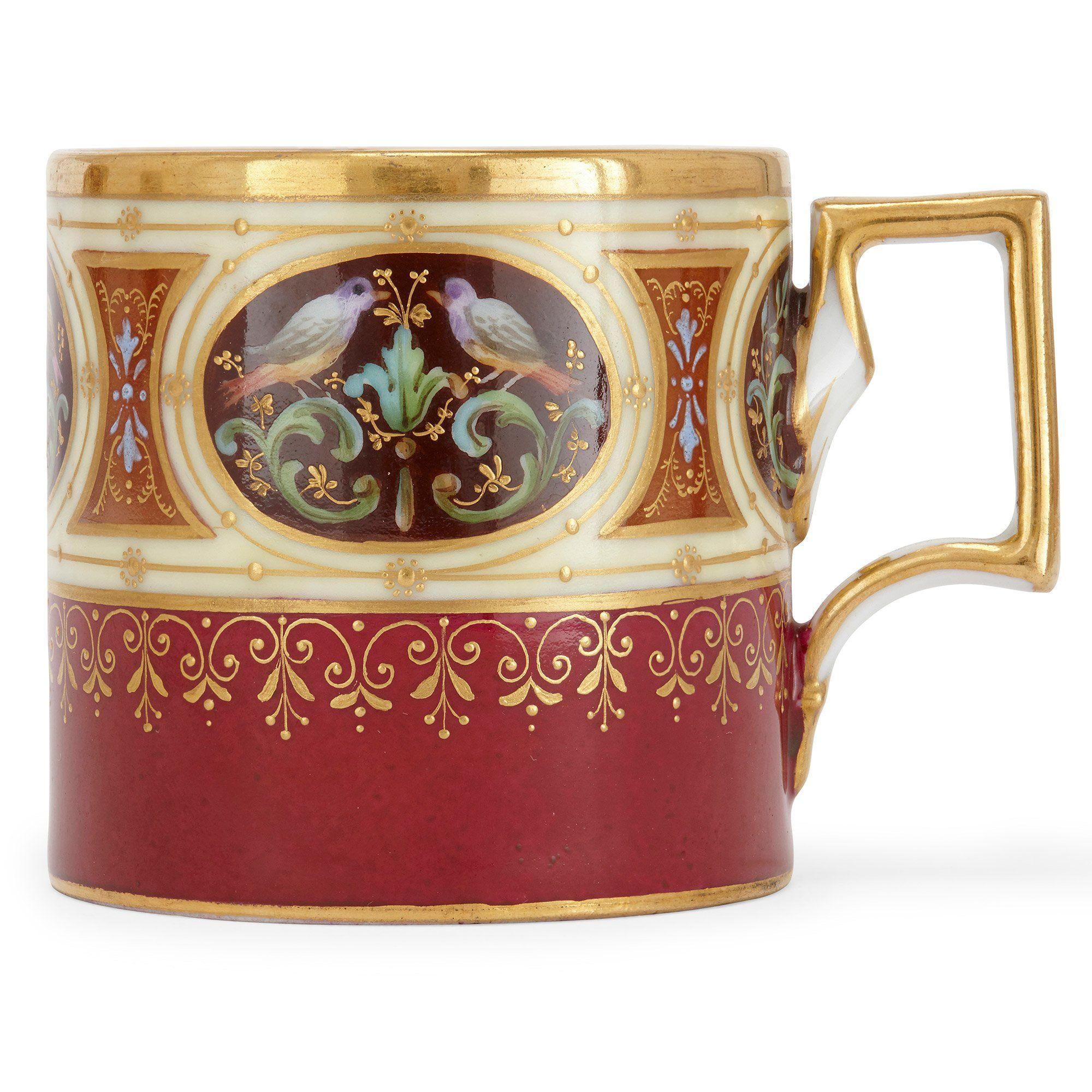 Royal Vienna porcelain antique twentyfive piece service