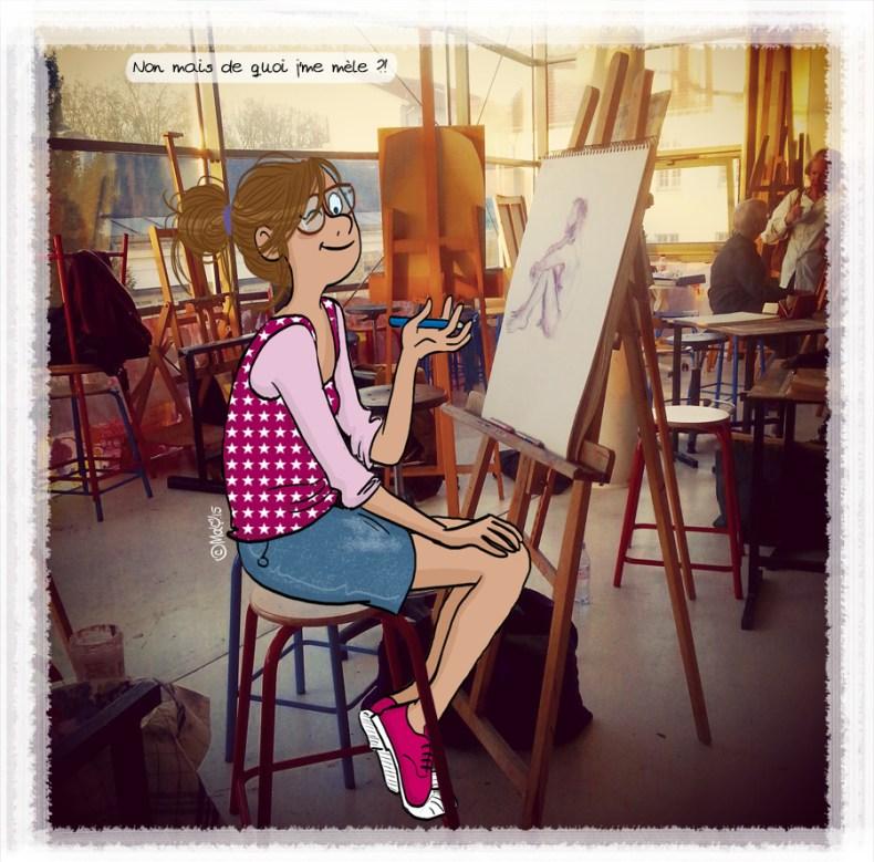 Avoir de l'imagination - ©MaY2015 - Pour en voir plus : www.mayfaitdesgribouillis.com