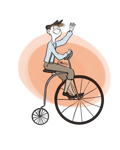 coté pro - vintage, vélocypède