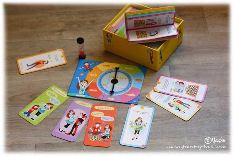 Mega Quiz Scrabble Junior, jeu de société Larousse illustré par MaY - ©MaY2015 - Pour en voir plus : www.mayfaitdesgribouillis.com