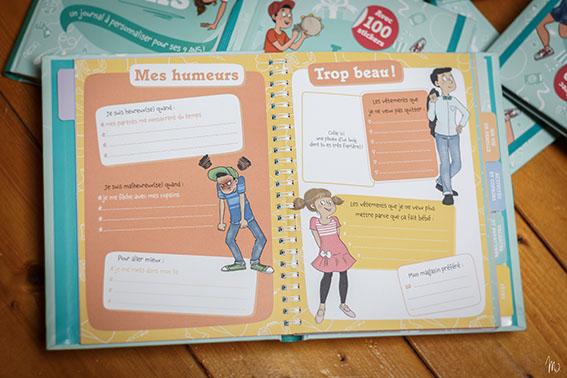 Le journal de mes neuf ans - Editions Gründ - © MaY Fait Des Gribouillis - www.mayfaitdesgribouillis.com