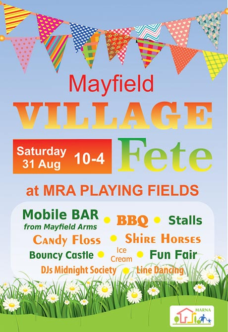 Village summer fete, Staffordhsire