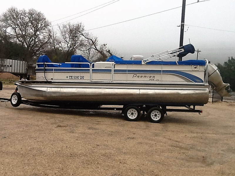 2008 Premier Grand Majestic 235 Pontoon