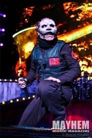 Corey Taylor (#8) of Slipknot