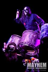 Chris Fehn (#3) of Slipknot