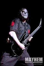 Mick Thomson (#7) of Slipknot