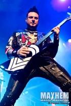 Jason Hook of Five Finger Death Punch