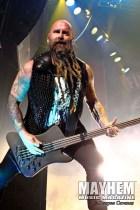 Chris Kael of Five Finger Death Punch