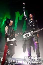 Nikki Sixx & DJ Ashba of Sixx:A.M.