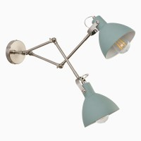Aimee Double Light Wall Sconce - Wall Mounted Wall Sconce