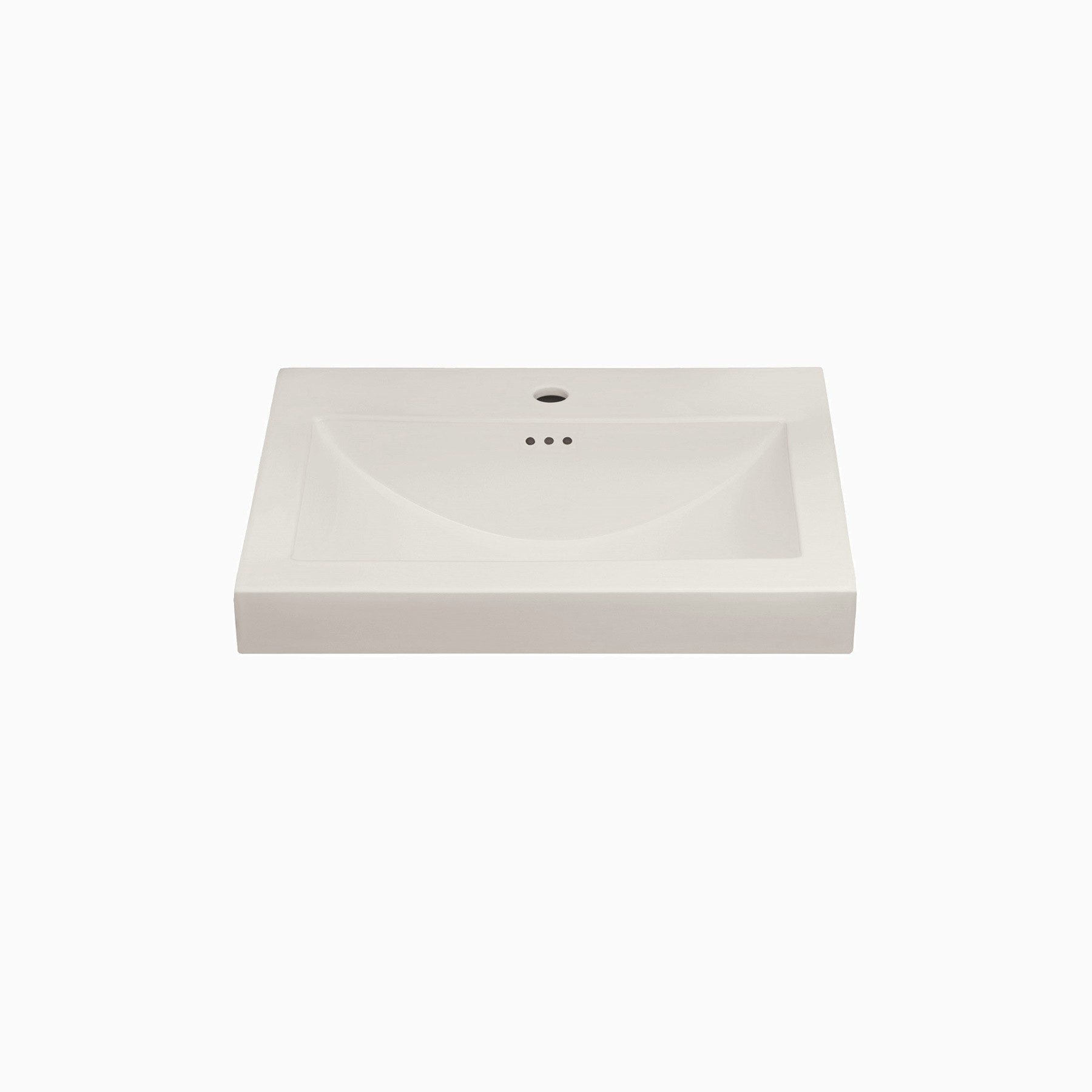 24 w x 20 d leith ceramic single vanity top with integrated sink