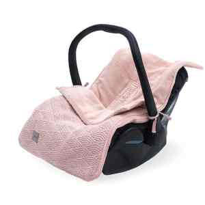 Comfortbag groep 0+ 3/5 punts River knit pale pink