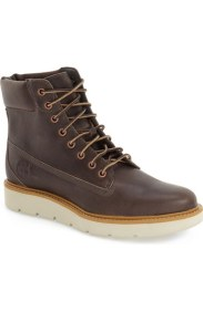 timberland lace-up boot