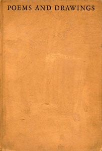 Books Illustrated by Maynard Dixon - POEMS AND SEVEN DRAWINGS Maynard Dixon