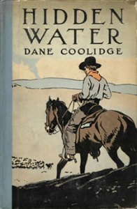Books Illustrated by Maynard Dixon - HIDDEN WATER Dane Coolidge