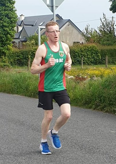 Carracastle 5k winner Gerry Kirrane (Mayo AC)