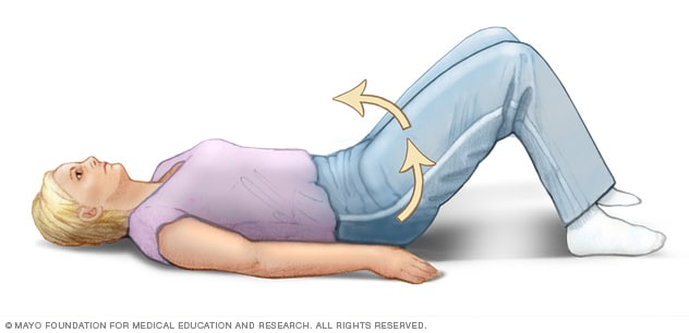 Aerobic Exercise Cartoon