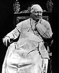 Catholics popes homeopathy pius