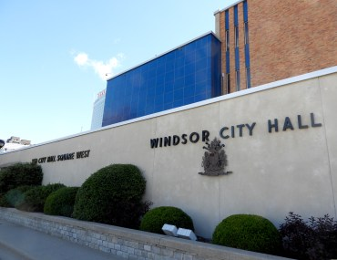 Side of Windsor's City Hall