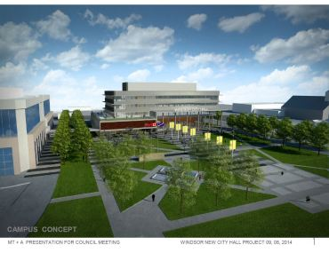 New City Hall Square and Civic Esplanade Design update