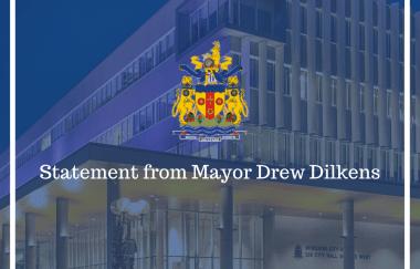 Statement from Mayor Drew Dilkens Oct. 16, 2021