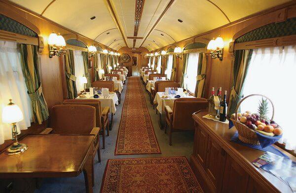 Trenes de lujo, el transcantábrico