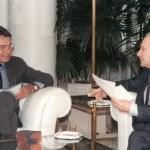 1983.- Entrevista con el presidente del Gobierno, Felipe González