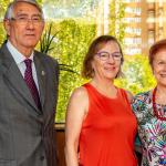 Satur Álvarez y Paca Tricio se reúnen con la directora del Imserso, María del Carmen Orte Socias. Año 2018