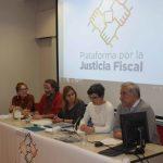 conmemoración el próximo 20 de febrero del Día de la Justicia Social, la Plataforma por la Justicia Fiscal,