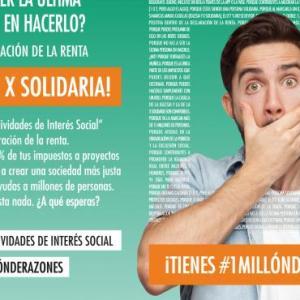 """La """"X Solidaria"""" es más importante que nunca: márcala antes del 30 de junio en la declaración de la renta"""