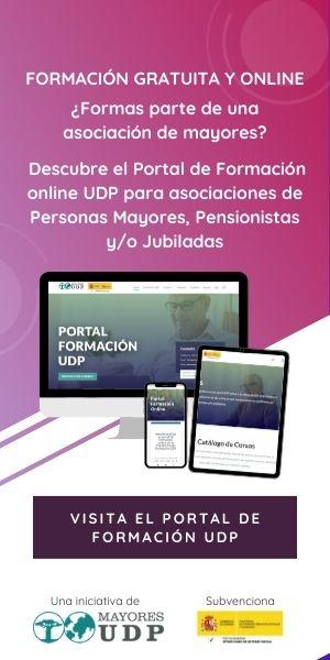 Banner de acceso al Portal de Formación UDP