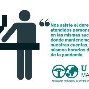 carta a las entidades bancarias UDP MADRID