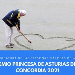 Las personas mayores, candidatas al premio princesa de asturias