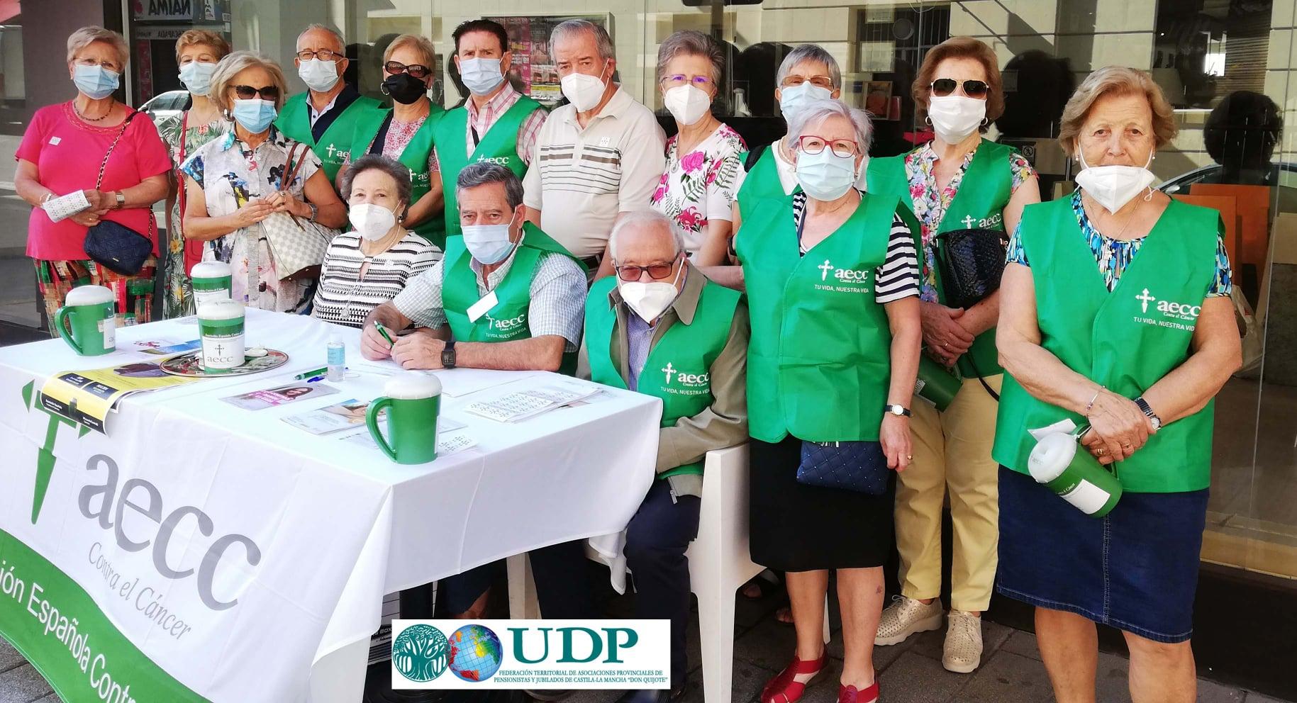 Voluntarios de UDP Castilla La Mancha