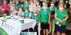El Voluntariado de UDP Castilla La Mancha colabora con la AECC